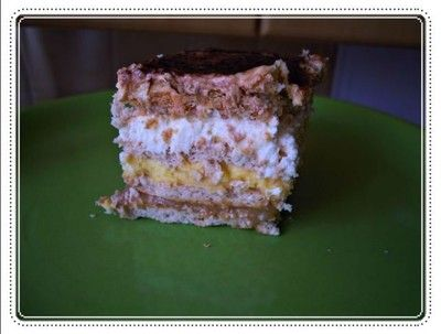 Twix cake.  Found a very easy recipe although it is in polish, hope google translate will help me.