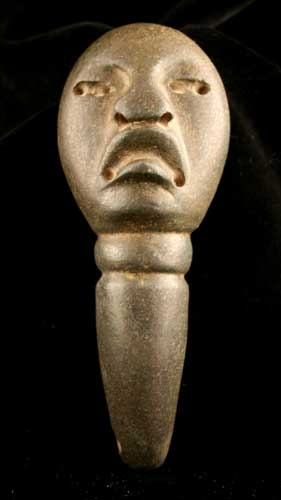 Olmec stone spoon