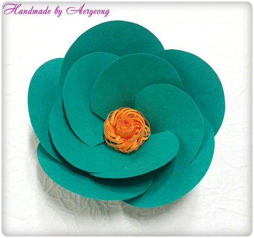 종이꽃 공예 : 네이버 블로그