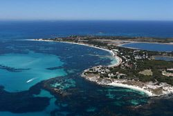 TWA-0065656 © WestPix Perth aerial pictures. Rottnest Island  PFA - Perth from the Air - Present day - AB5W2612 Pic by Lincoln Baker / WA News