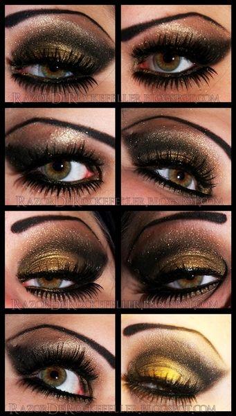 NightLife by Razor De Rockefeller. http://razorderockefeller.blogspot.com/2012/08/night-life-eotd.html: Makeup