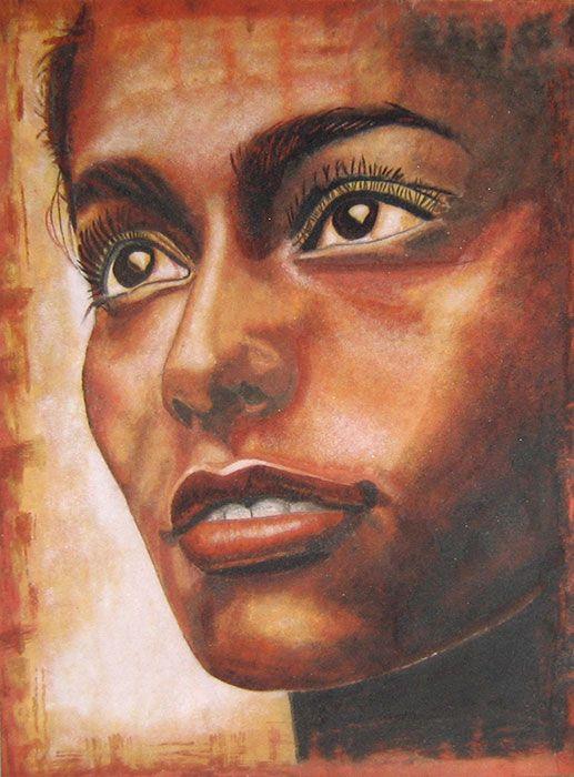 Portraits d'adolescents de sable