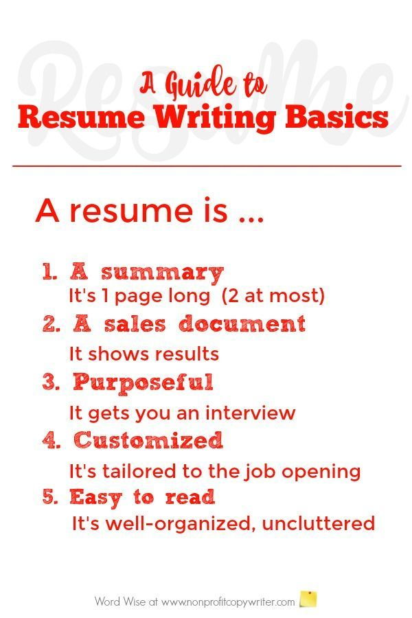 65 best Quick Writing Tips images on Pinterest Daily writing - first resume