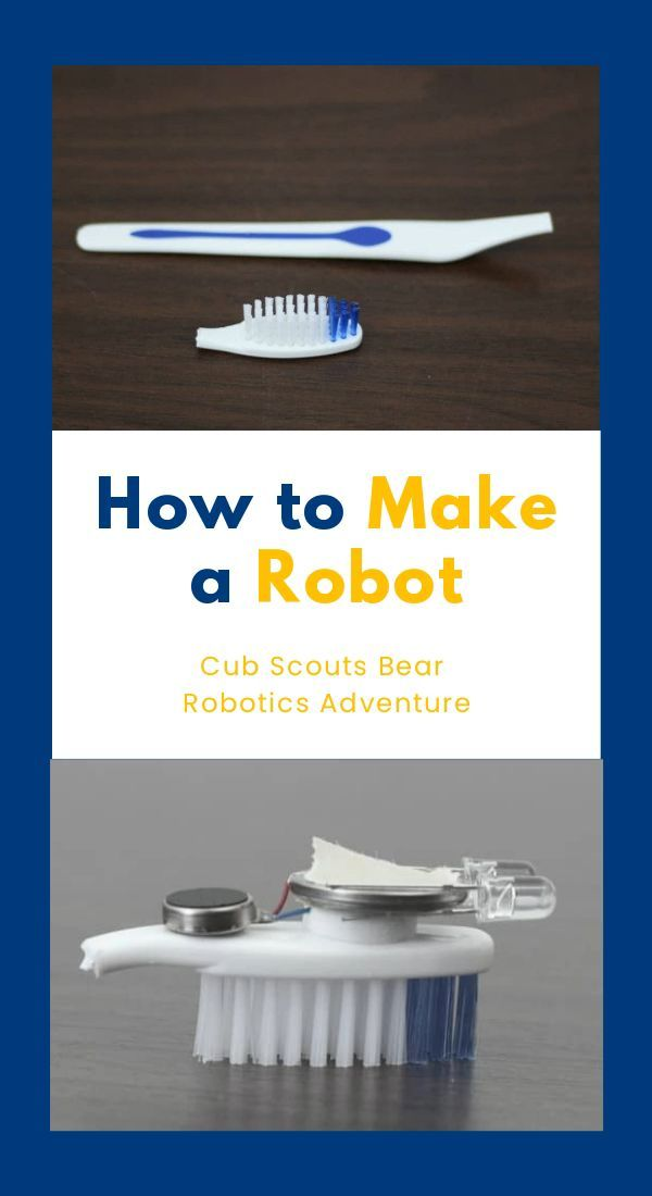HOW TO MAKE A ROBOT FOR CUB SCOUDS