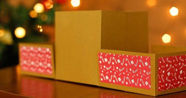 Guarda tus regalos en una *Cajita Desarmable*