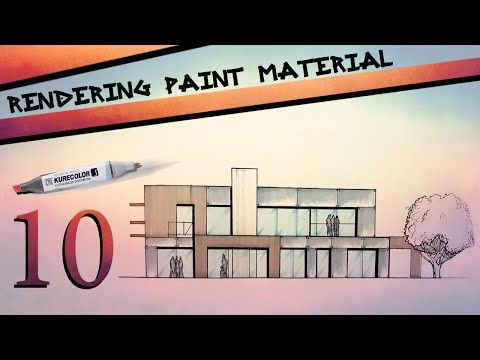 Rendering Paint Material - YouTube