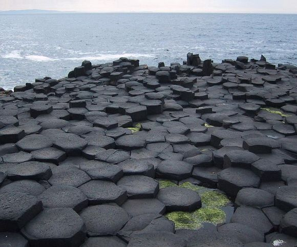 Giant's Causeway, UK  More Basalt volcanic rock. A trippy experience when entering an island.