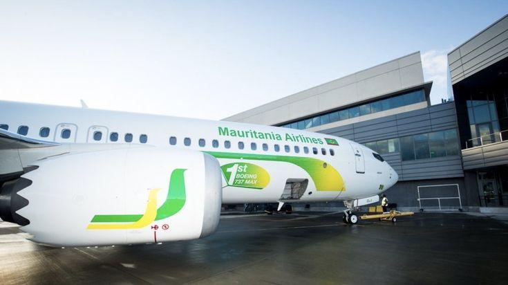 Mauritania Airlines reçoit son le premier Boeing 737 MAX africain