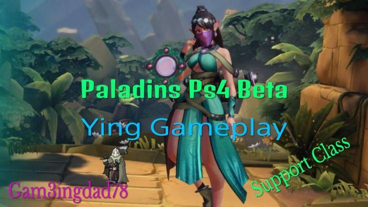 PALADINS PS4 BETA: YING GAMEPLAY