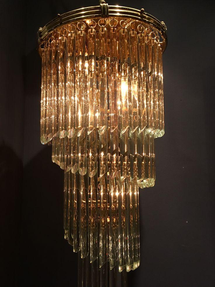 Vintage chandelier, lamp, interior, design