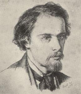 Self portrait (1855) D G Rossetti