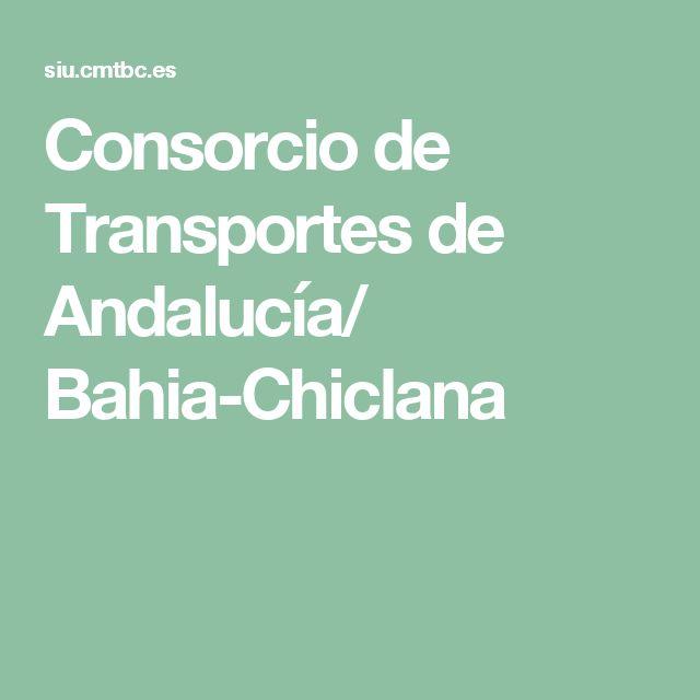 Consorcio de Transportes de Andalucía/ Bahia-Chiclana