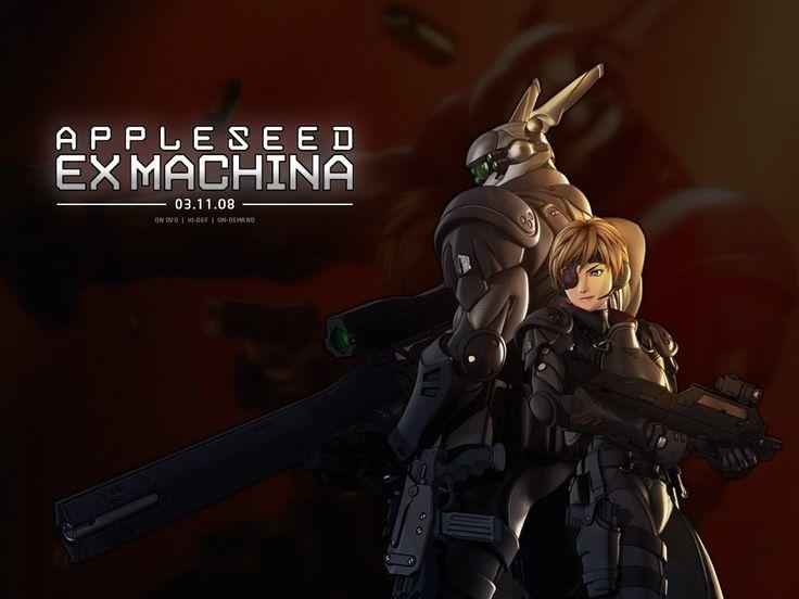 Appleseed Ex Machina Anime