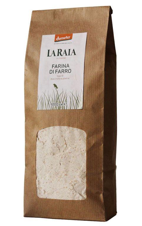 La buonissima farina di farro dell'Azienda agricola La Raia di Novi Ligure. Trovate i loro prodotti nei cesti di portanatura.it http://www.ilpastonudo.it/associazione/i-cesti-consapevoli-del-2013/