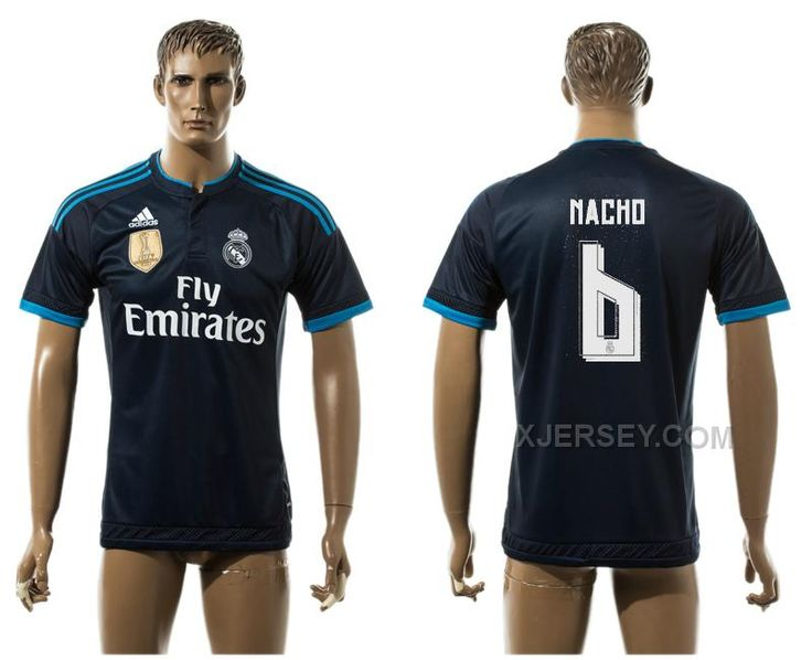 http://www.xjersey.com/201516-real-madrid-6-macho-away-thailand-jersey.html 2015-16 REAL MADRID 6 MACHO AWAY THAILAND JERSEY Only $35.00 , Free Shipping!