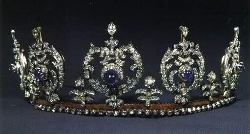 Princess Caroline-Mathilde of Denmark and Iceland (1912-1995): Sapphire Tiaras, Princesses Carolinemathild, Crowns Tiaras, Royals Crowns, Diamonds Tiaras, Tiaras De, Princesses Thyra, Denmark Royals Jewels, Denmark