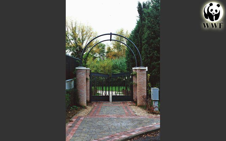 """""""Giardino Didattico"""" del Fiume Nera. L'ingresso al parco."""