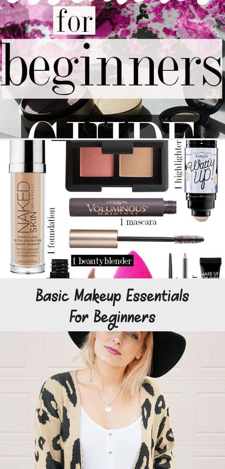 Makeup in 2020 Makeup essentials for beginners, Basic