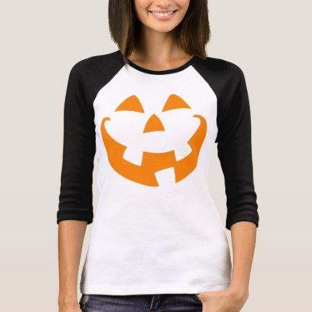 Halloween Pumpkin T-Shirt - click/tap to personalize and buy