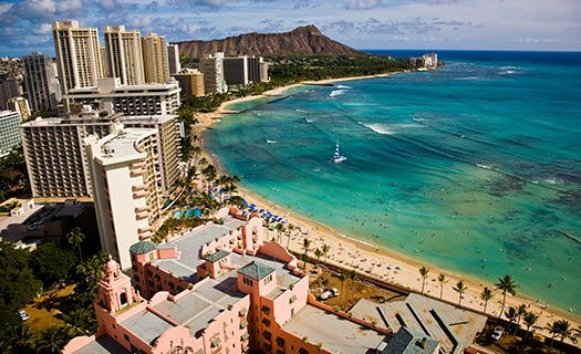 Waikiki Beach in Honolulu (Image: Hawaii Tourism Authority (HTA)/Tor Johnson)