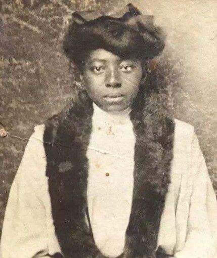 Vintage African American Portrait Cotton Plant Arkansas