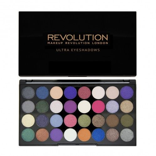 Ultra 32 Shade Eyeshadow Palette EYES LIKE ANGELS www.Makeuprevolutionstore.com