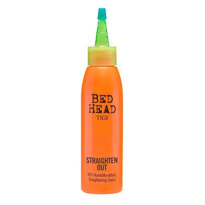 Tigi Straighten Out: Hair Straightening (This works soo well with my natural curly/wavy/frizzy hair. Keeps it straight in humidity and feels super smooth).
