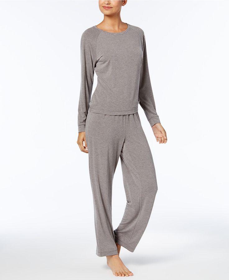 Charter Club Long Sleeve Pajama Set, Created for Macy's - Ladies Pajamas - SLP - Macy's
