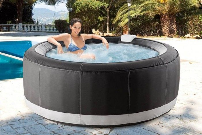 Portable Inflatable Hot Tub « foregather.net