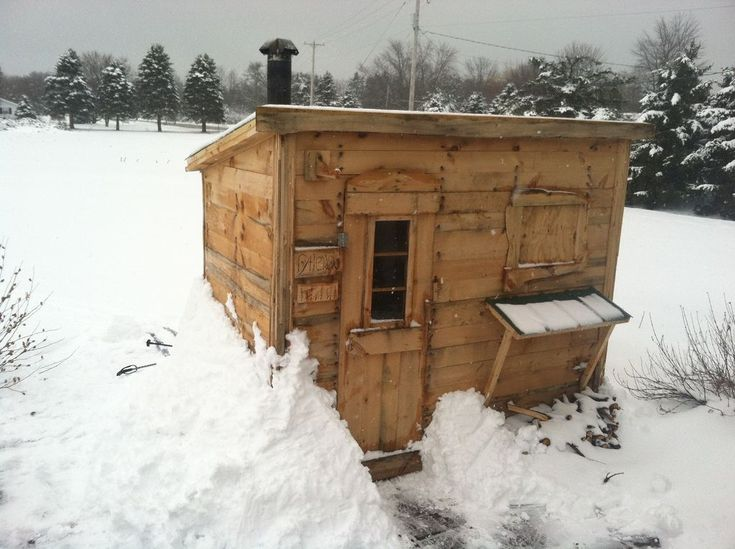 "A DIY sauna for my Finnish descended, Yooper husband who insists on saying ""sauna"" weird."