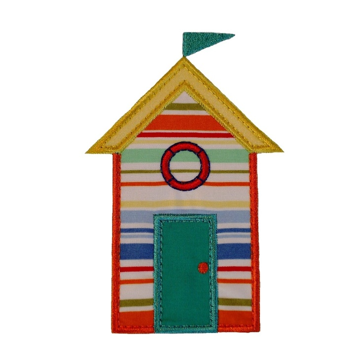 1000 images about beach hut on pinterest house swap for Beach house embroidery design