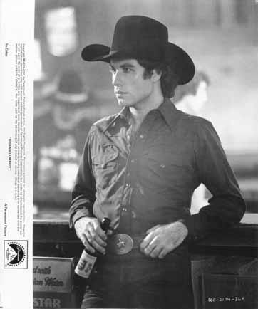 URBAN COWBOY JOHN TRAVOLTA Lone Star Beer ...