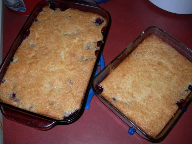Black Raspberry Cobbler from Food.com:   								This recipe has been in our family for a long time.  We use it for any type of fruit cobbler.  Instead of the berries, you could use 1 or 2 cans of canned cherry pie filling.  I just used freshly picked berries for this recipe today.