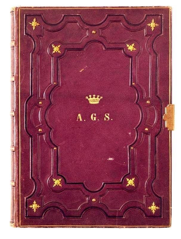 """""""Souvenir"""" (Deckeltitel). von [Salburg]. - Schloß Leonstain in Oberösterreich, [um 1890]. - - Antiquariat Inlibris, Gilhofer Nfg. ..."""
