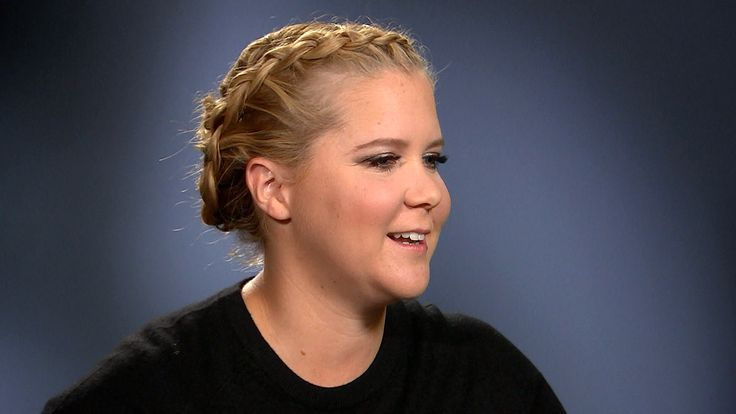 """""""The skin I'm in right now...I'm going to...love it""""  Amy Shumer.  Through her style fund organization in coordination with Goodwill Industries, Amy Schumer is an inspirational speaker for a serious cause: helping women who are trying to enter the workforce. NBC special anchor Maria Shriver sat down with her."""