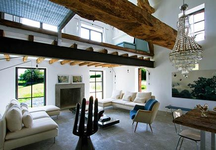 Woninginrichting woonboerderij in Bourgogne Frankrijk | Inrichting-huis.com