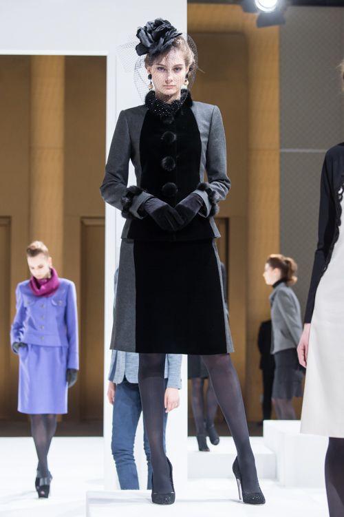 ジュン アシダ 2015-16年秋冬コレクション - ジュエルカラーと光沢感で届けるエレガンス | ニュース - ファッションプレス