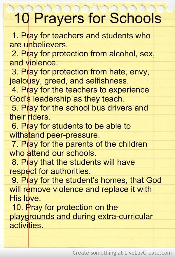 prayer in schools Rough draft / thesis even though public schools today are without school prayer, most schools have replaced prayer, with a silent moment of reflection.