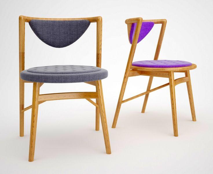 Shello 2 Dining Chair - обеденный стул. Разные цвета. Магазин стильной мебели и света wooddi.com  Скандинавский стиль, модерн. #обеденный #дизайнерский #стильный #оригинальный #стул