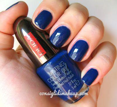 Consigli di Makeup: NOTD: Pupa Lasting Color Gel 053 Pacific Beauty