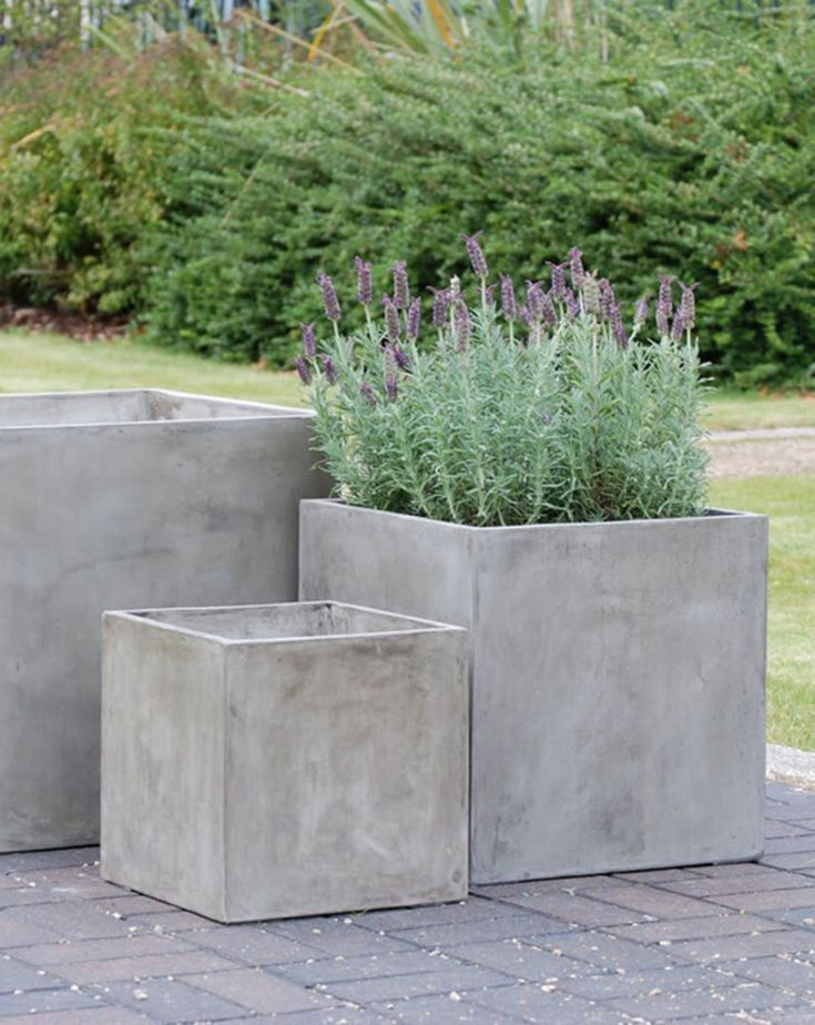 23 Amazing DIY Concrete Garden Boxes Ideas To Make Your Home Yard Looks Awesome – #amazing #…