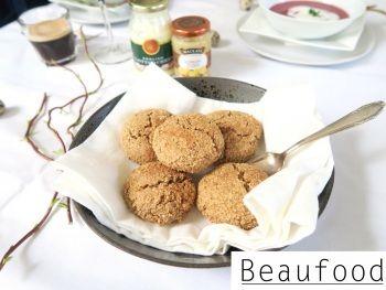 Beaufood - Glutenvrije scones van havermout met clotted cream en lemoncurd