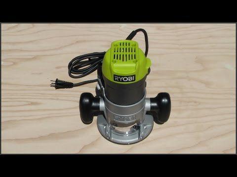 Ryobi Router Unboxing & Setup - YouTube