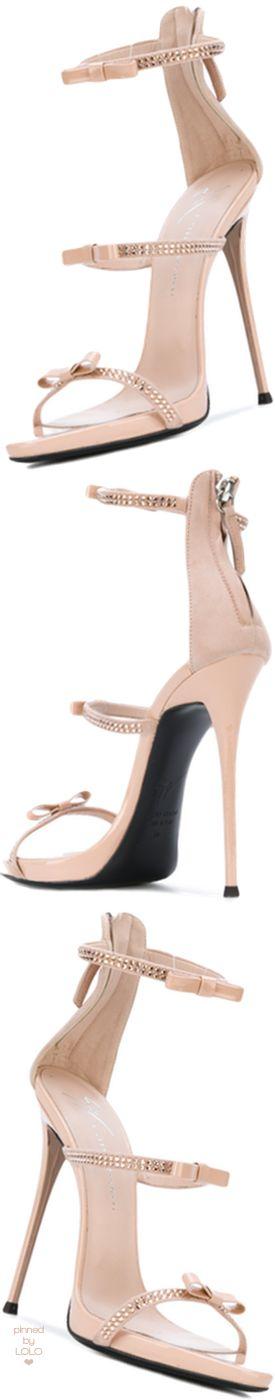 GIUSEPPE ZANOTTI DESIGN Harmony Ribbon Sandals