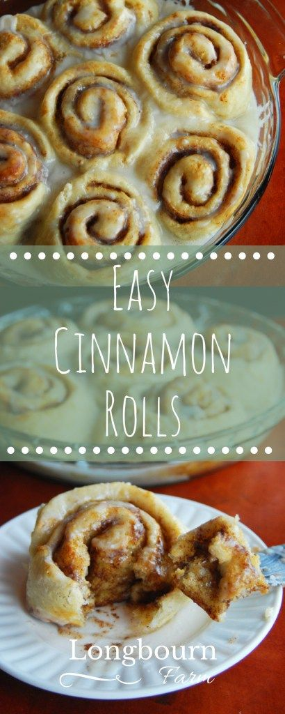 My recipe for easy cinnamon rolls is delicious and simple! With a gooey filling and lemony icing, it's the perfect treat!