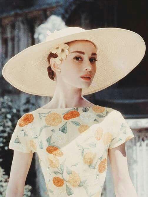 Audrey Hepburn, c. 1957. #FunnyFace: