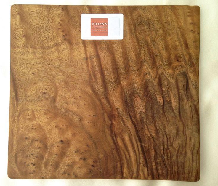 Camphor burl wood