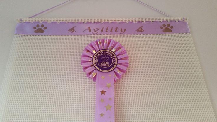 Dog show awards display frame ,