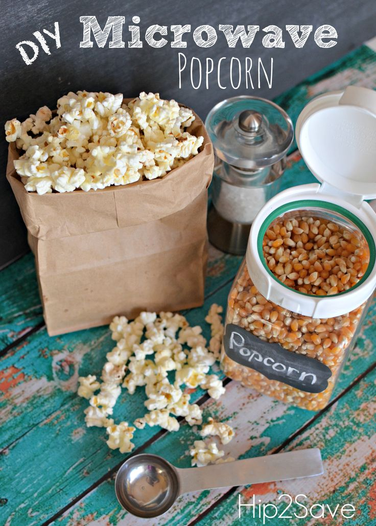 How to Make Homemade Microwave Popcorn by Hip2Save (It's Not Your Grandma's Coupon Site!)