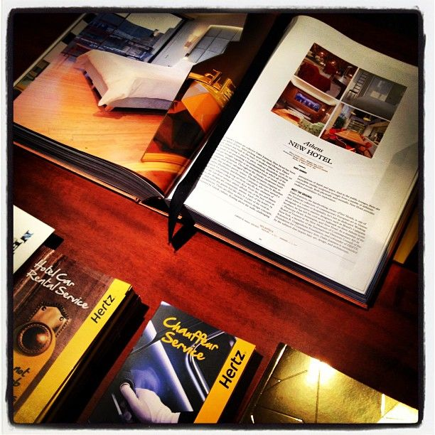 NEW Hotel, Athens Greece lobby books!  By @yeshotelsgroup #newhotel #athens #hotel #travel #books #lobby